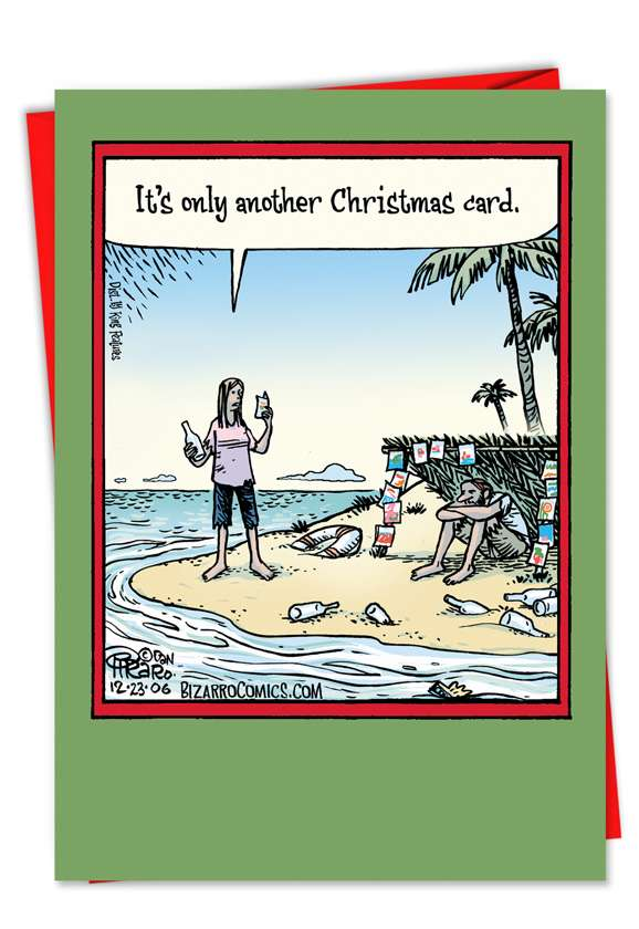 Another Christmas Card: Hysterical Christmas Printed Card
