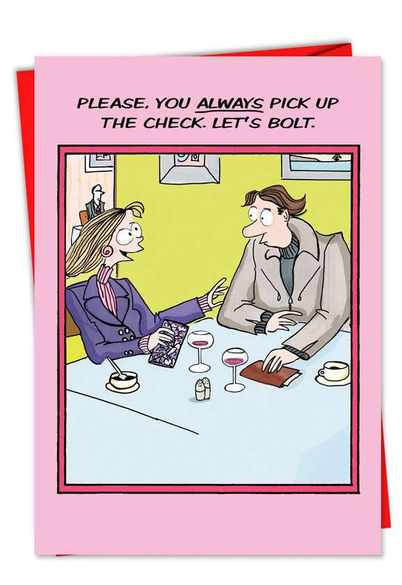 Bolt: Humorous Valentine's Day Greeting Card