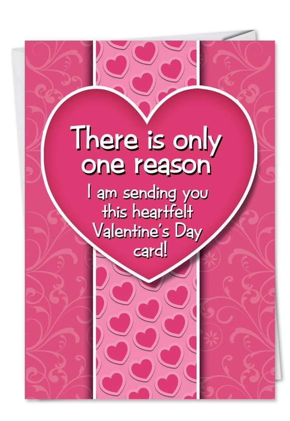 Hilarious Valentine's Day Paper Card from NobleWorksCards.com - Bitch if I Didn't