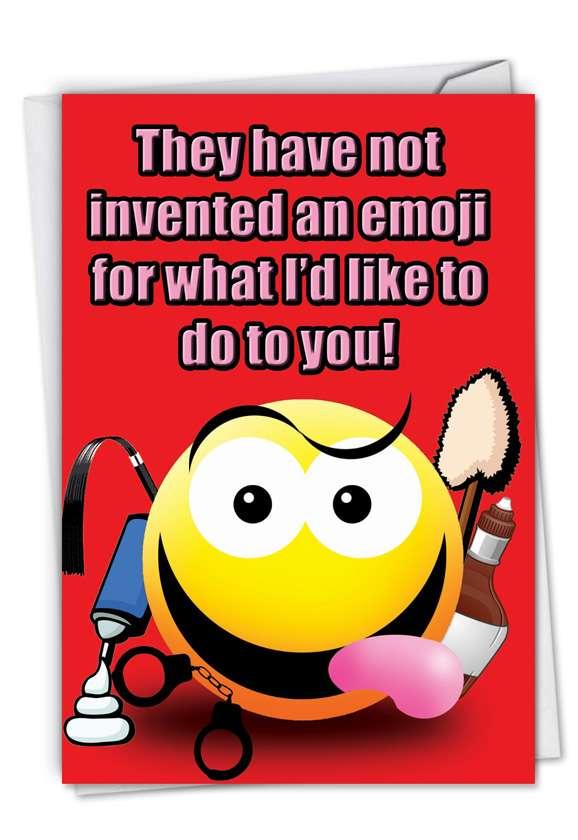 Invented an Emoji Card