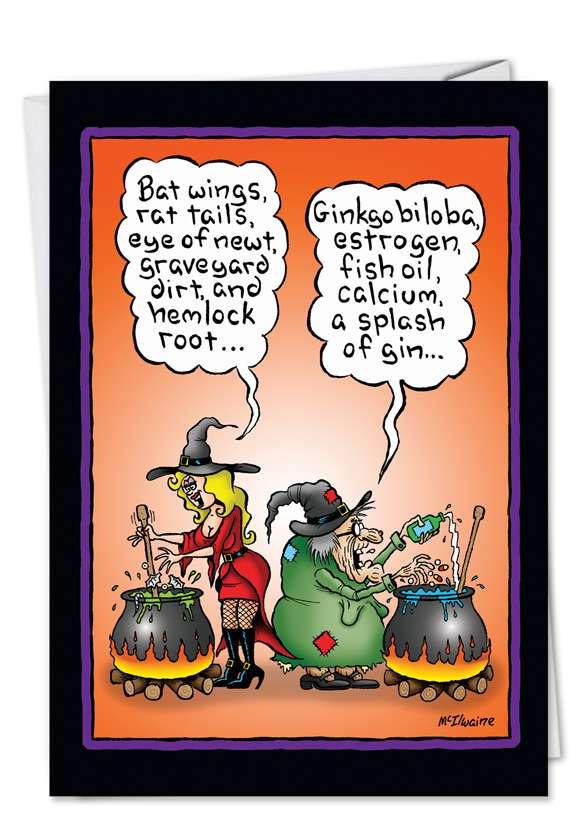 Witch Brew Card