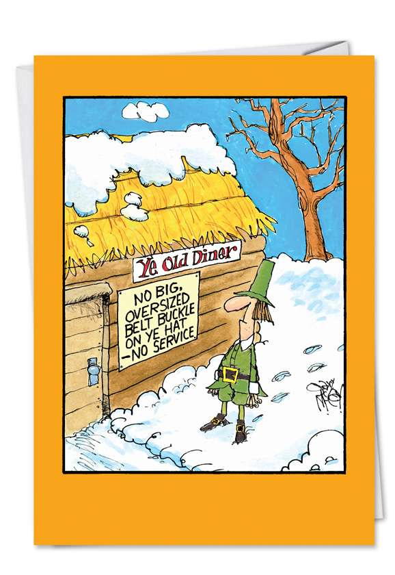 Ye Old Diner: Hysterical Thanksgiving Greeting Card