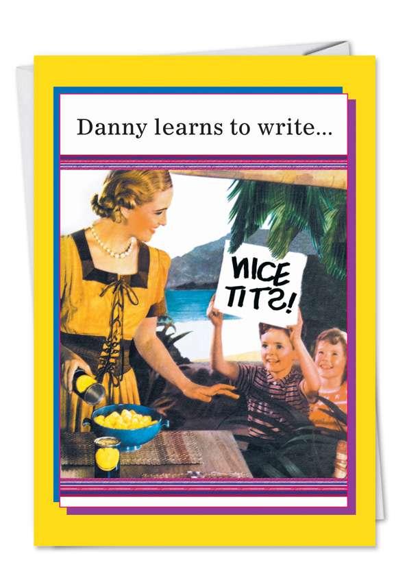Danny Learns Card