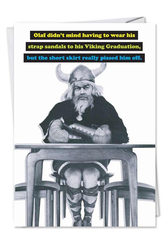 Viking Graduation Card