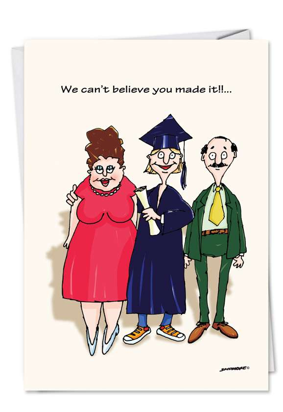 Keg Parties: Hysterical Graduation Printed Card