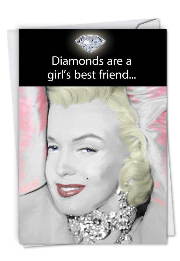 Girl's Best Friend: Humorous Birthday Greeting Card