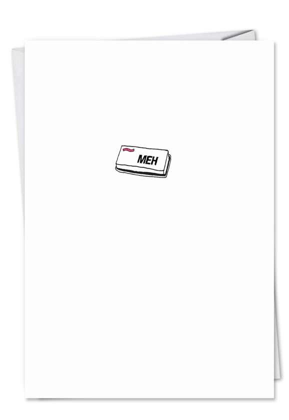 Meh Button Card