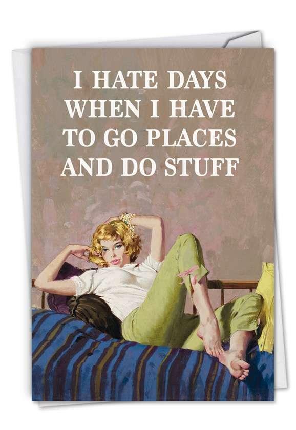 Go Places Do Stuff Card