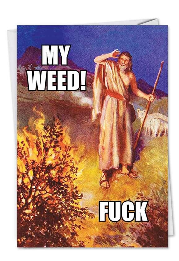 Moses' Weed Card
