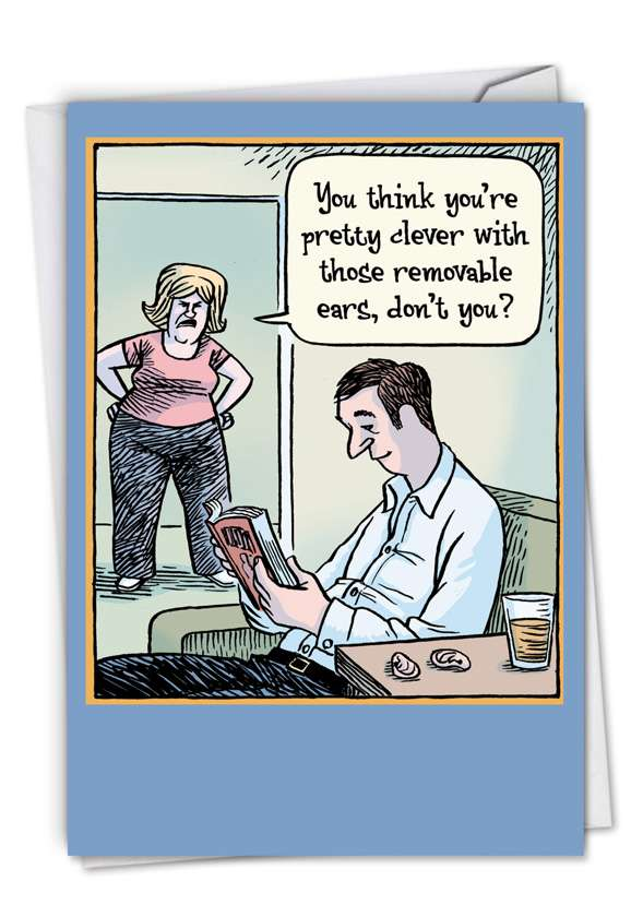 Removable Ears (Blank) Card