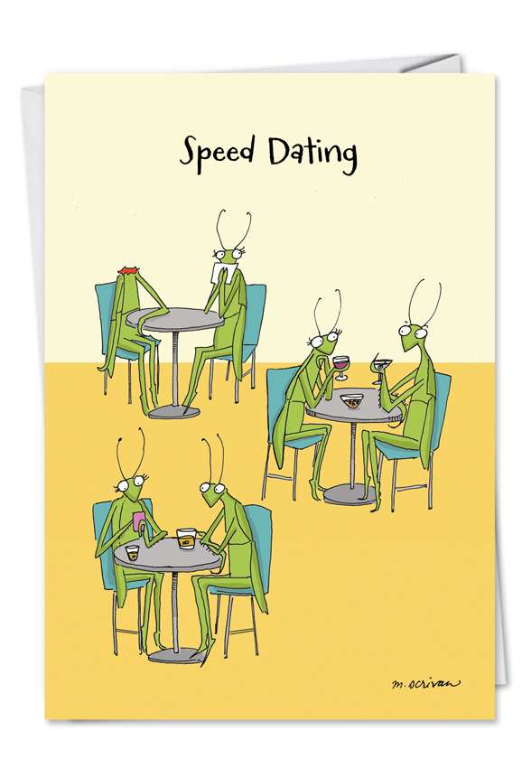 Speed Dating: Hysterical Birthday Greeting Card
