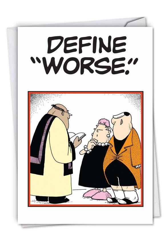 Define Worse (Blank) Card