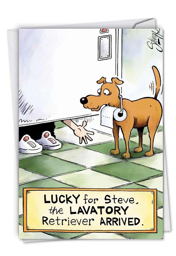Lavatory Retriever Card
