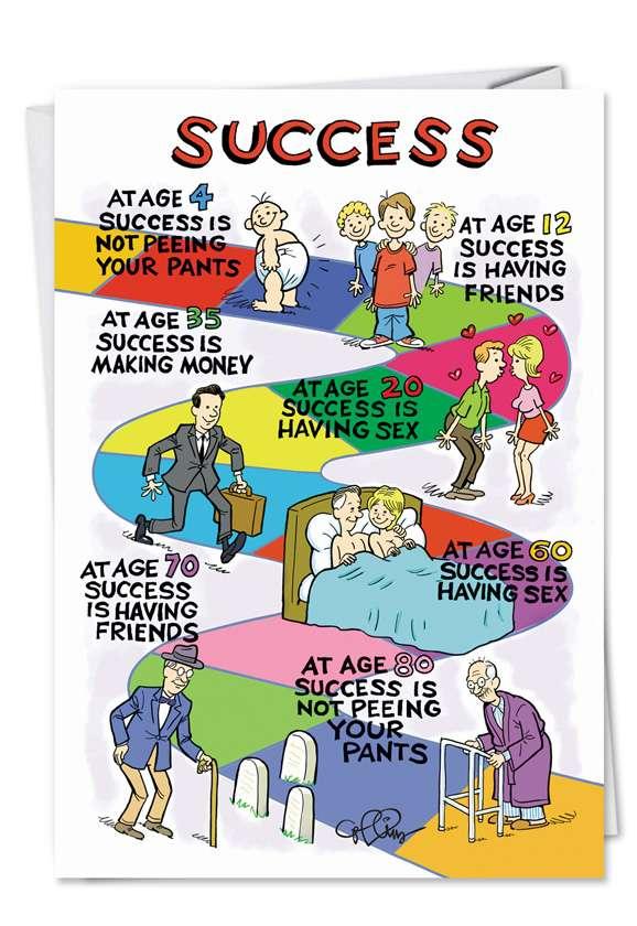 Success: Funny Birthday Greeting Card