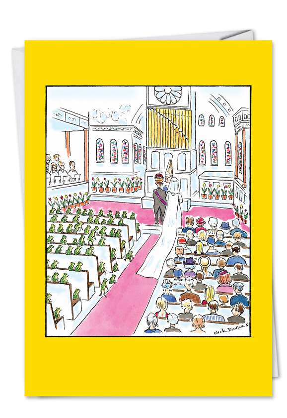 Wedding: Humorous Congratulations Greeting Card