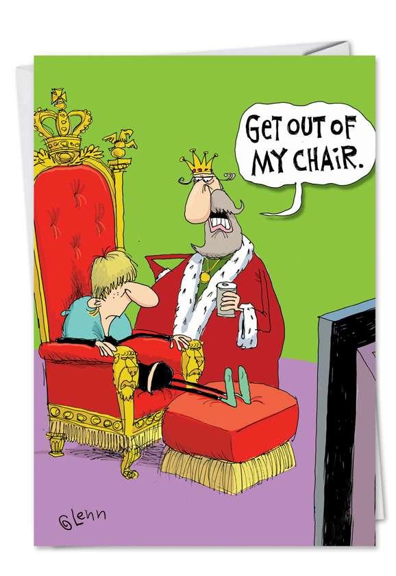 Kings Chair Card