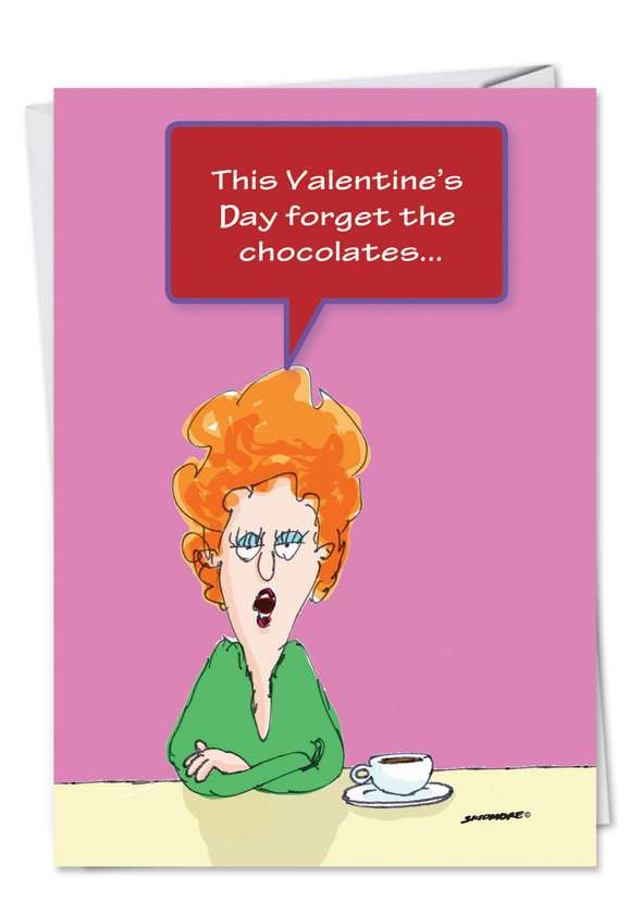 Toilet Seat: Hilarious Valentine's Day Greeting Card