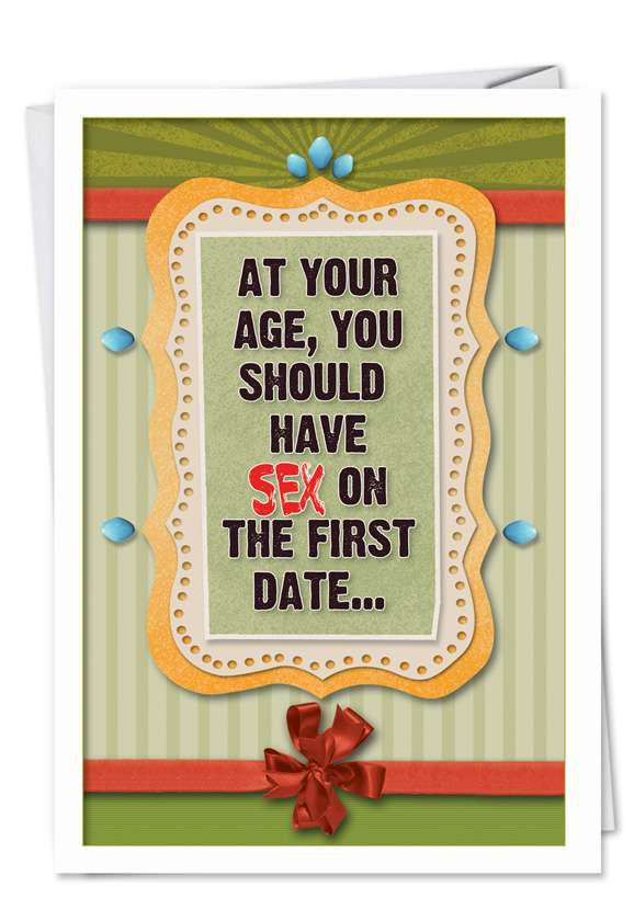 Sex on first date Card