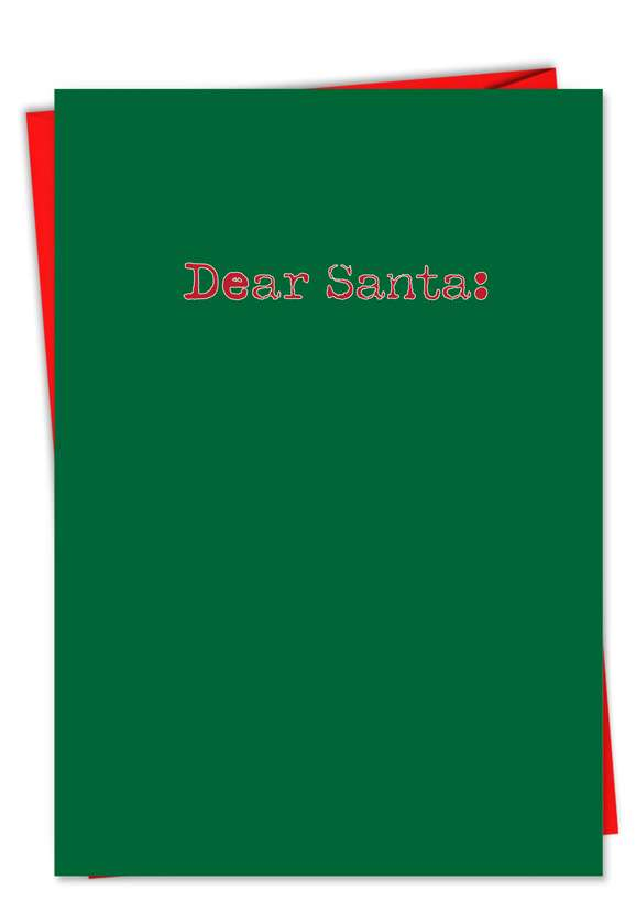 Let Me Explain: Hilarious Christmas Printed Card