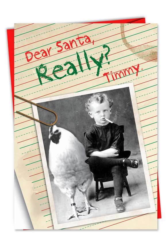 Really: Hilarious Christmas Printed Card