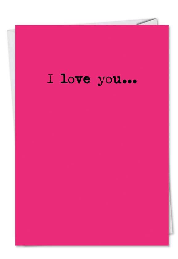 Paula Deen: Humorous Friendship Printed Greeting Card
