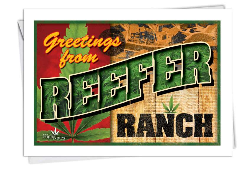 Reefer Ranch Card