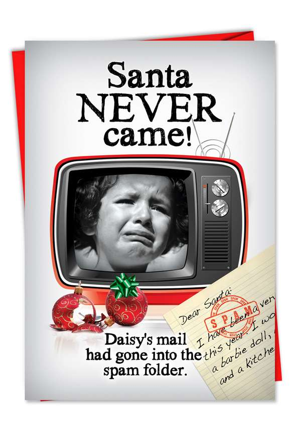 Spam Letter: Hilarious Christmas Greeting Card