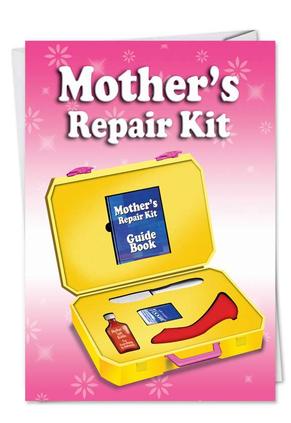 Mom Emergency Kit: Humorous Mother's Day Greeting Card