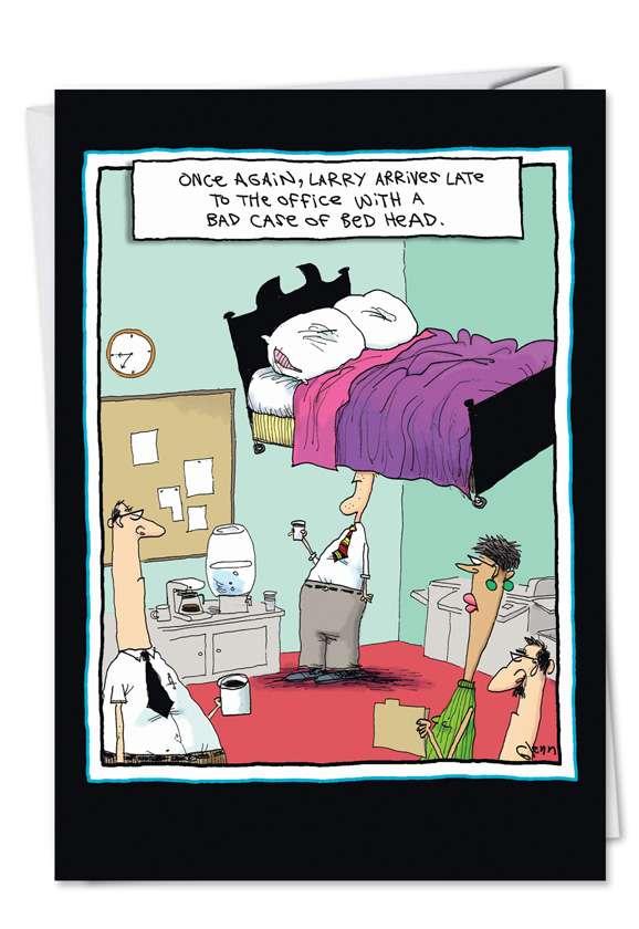 Bed Head Card