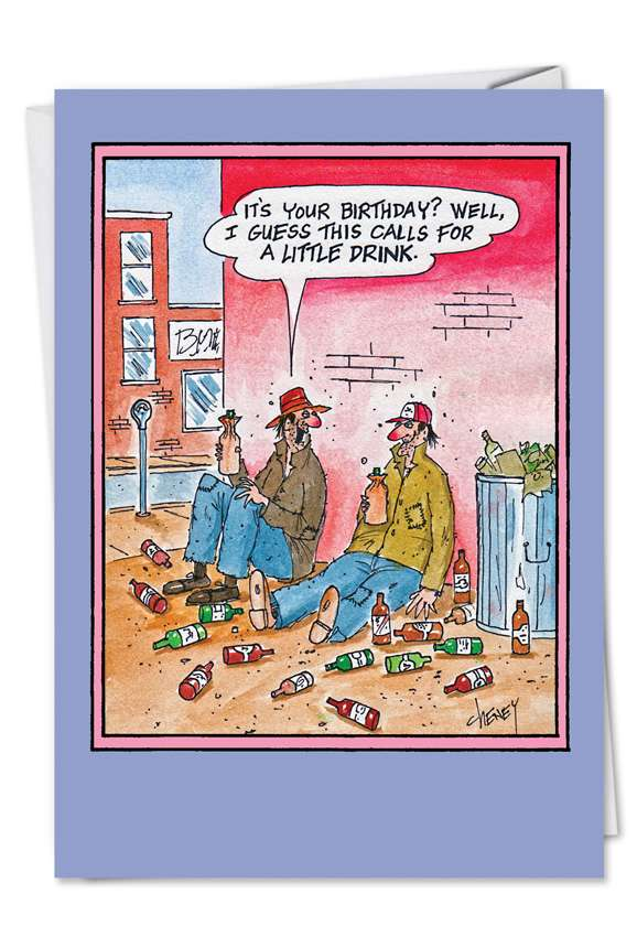 Birthday Bums: Hysterical Birthday Printed Card