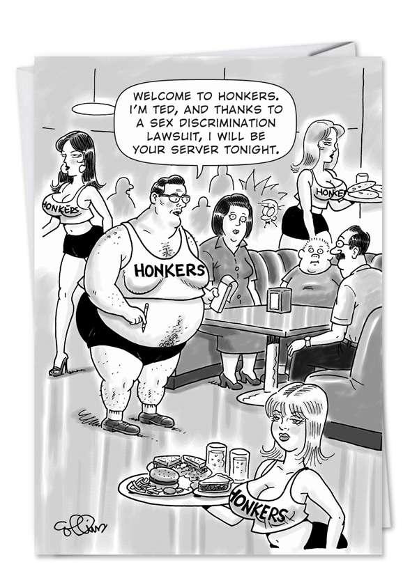 Honkers: Humorous Birthday Greeting Card