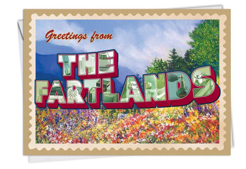The Fartlands: Hysterical Birthday Greeting Card