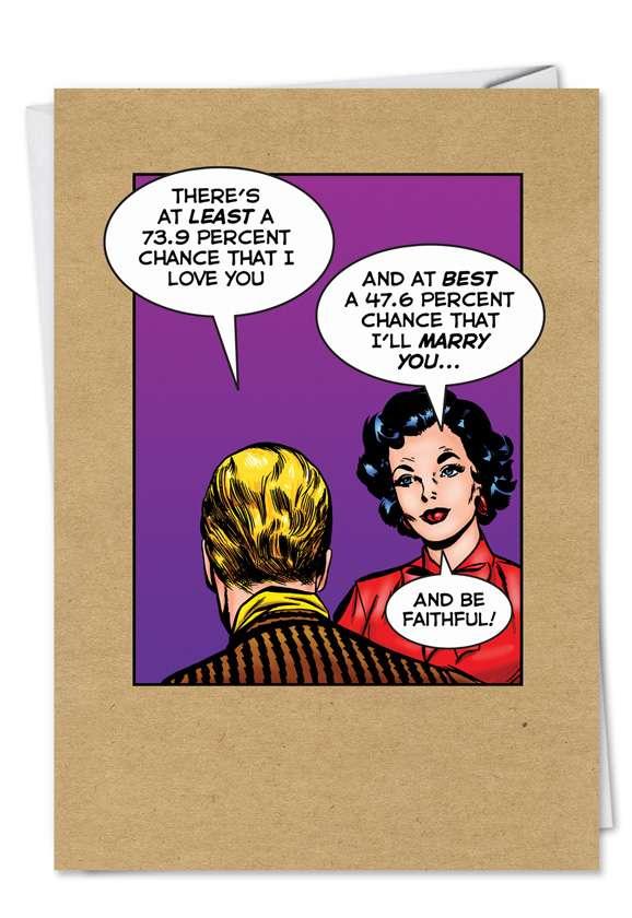 Faithful: Humorous Birthday Paper Greeting Card