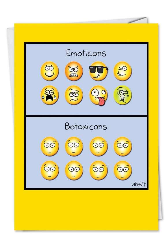 Botoxicons Card