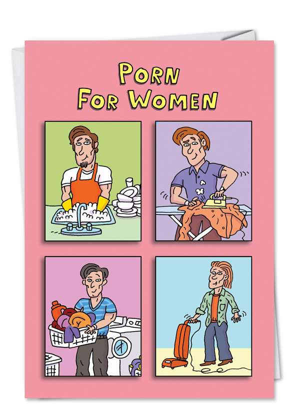 Porn For Women Card