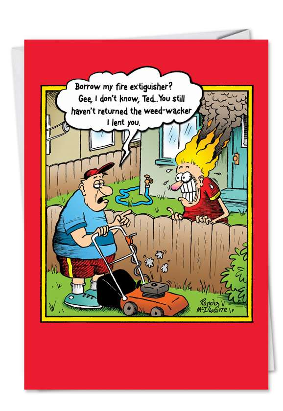 Weed Whacker Card