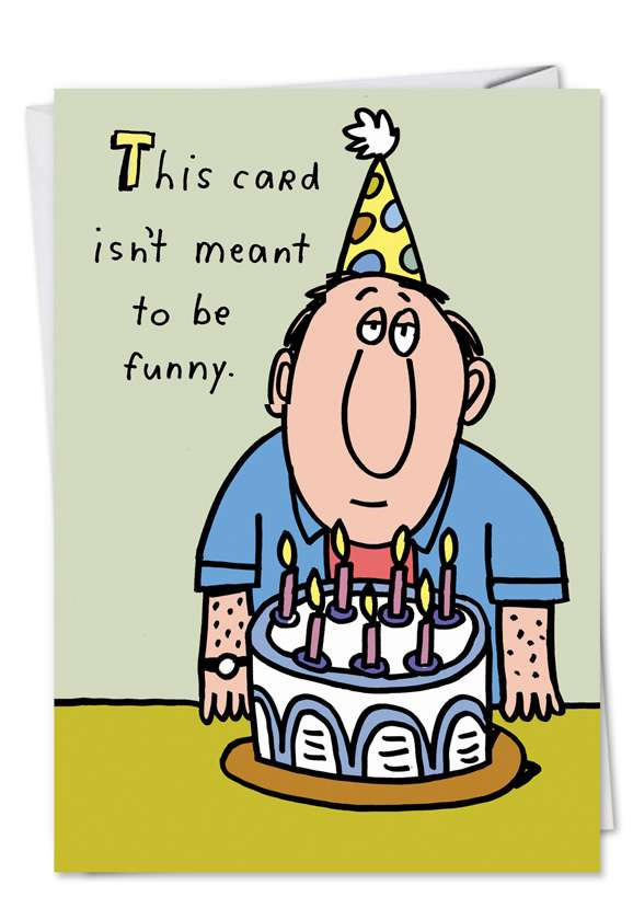 Meant to be Funny: Hilarious Birthday Printed Card
