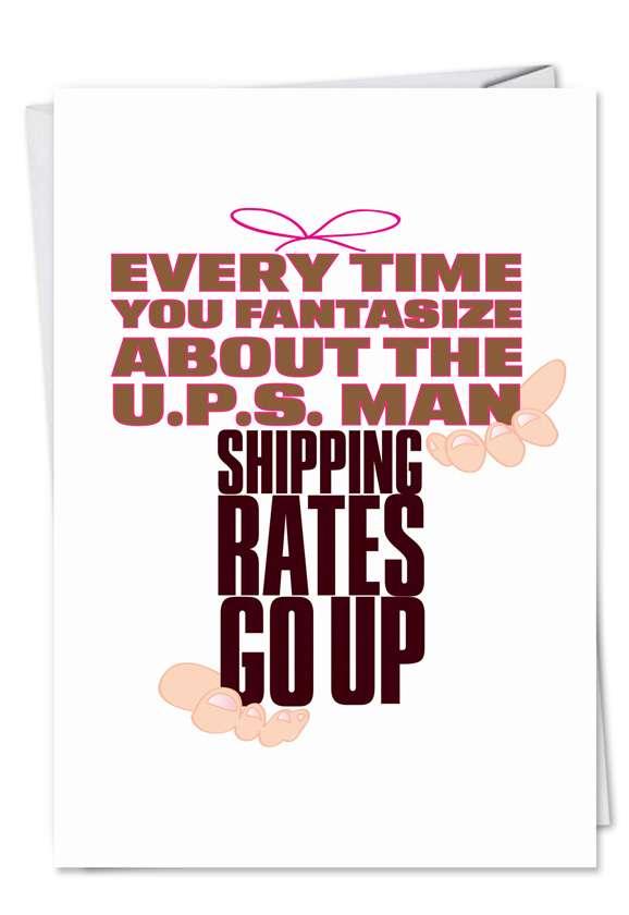 UPS: Funny Birthday Greeting Card