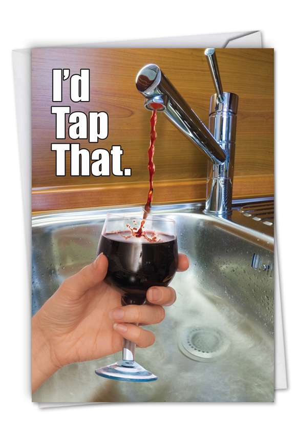 I'd Tap That: Hilarious Birthday Greeting Card
