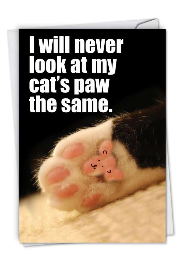 Paw Wow: Hilarious Congratulations Paper Greeting Card