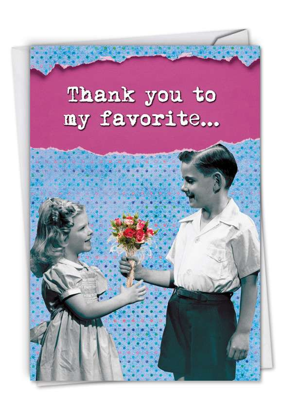 Thanks Whore: Funny Thank You Paper Card