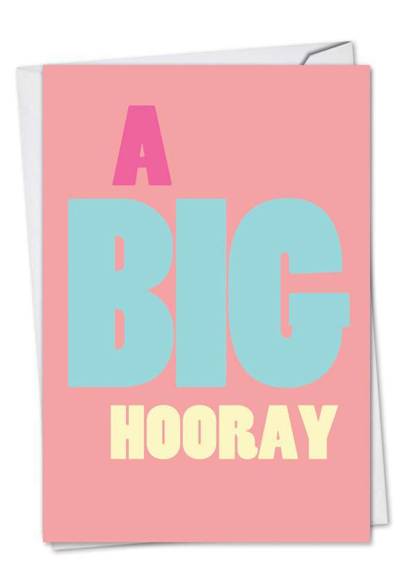 Big Hooray: Hilarious Congratulations Paper Card