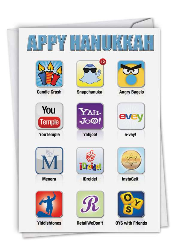 Appy Hanukkah Card