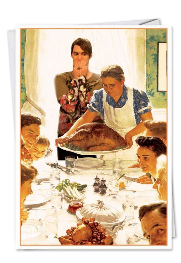 Stefon and Family: Hysterical Birthday Paper Greeting Card