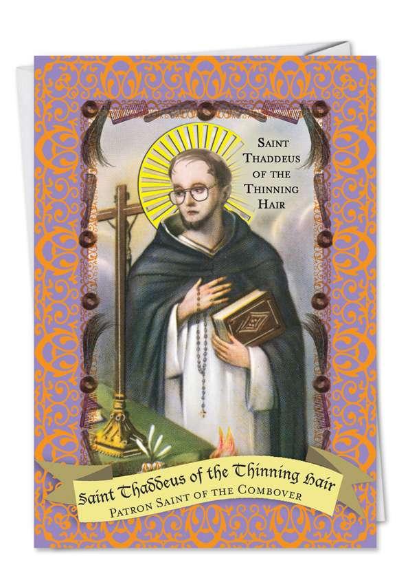 Bald Saint Card Card