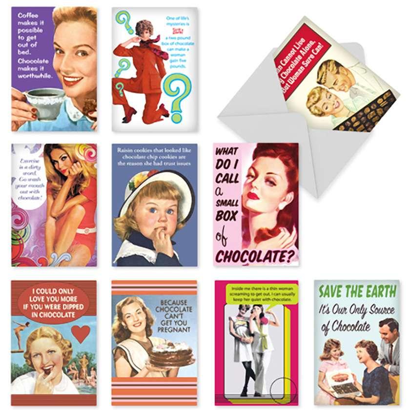 Bitter Sweet: Hilarious Blank Assortment of 10 Cards