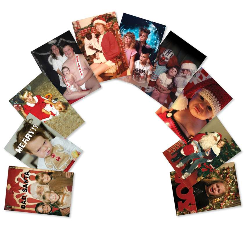 Awkward Family Photos: Hysterical Christmas Assortment of 10 Cards