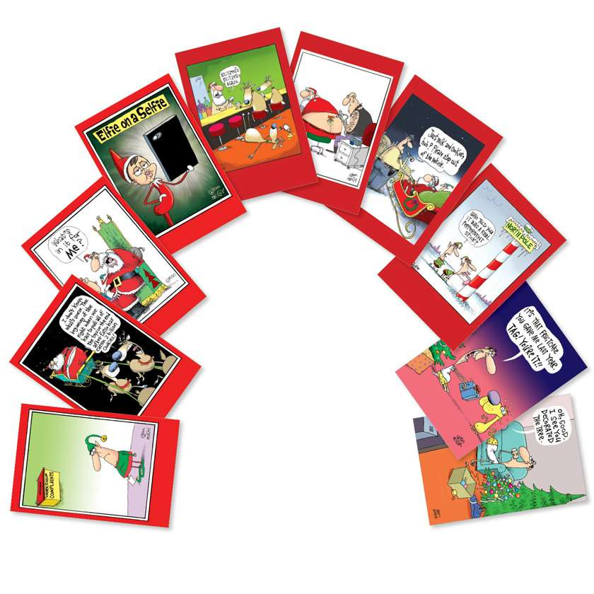 No Complaints: Funny Christmas Assorted Set of 10 Cards
