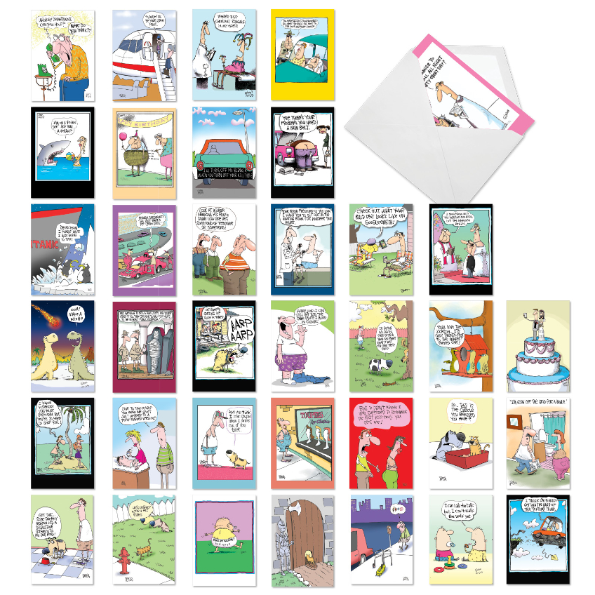 A Mix of McCoy: Hysterical Mixed Occasions Assortment of 36 Cards