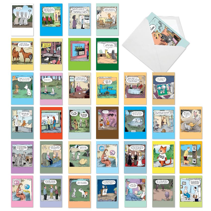 A Coverly Combo: Hilarious Mixed Occasions Mixed Set of 36 Cards